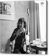 Angus Young Ac/dc Acrylic Print