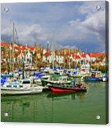 Anstruther Harbor Acrylic Print