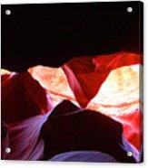 Antelope Slot Canyon - Astounding Range Of Colors Acrylic Print