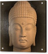antique oil effect Buddha Korean ,, Acrylic Print
