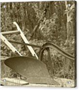 Antique One Share Plow Acrylic Print