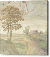 Apollo Slaying Coronis Acrylic Print