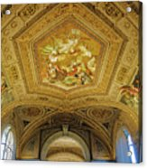 Architectural Artistry Within The Vatican Museum In The Vatican City Acrylic Print