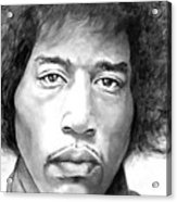 Are You Experienced Acrylic Print