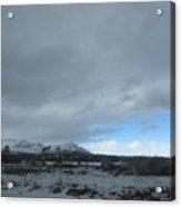Arizona Winter Landscape Acrylic Print