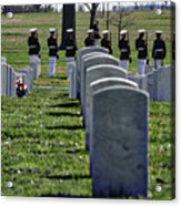 Arlington Cemetery Washington Dc Usa Acrylic Print
