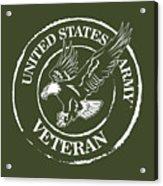 Army Veteran Acrylic Print