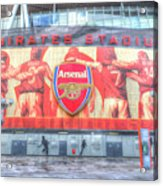 Arsenal Football Club Emirates Stadium London Acrylic Print
