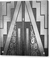Art Deco Door Acrylic Print