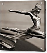 Art Deco Hood Ornament Acrylic Print