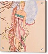 Art Nouveau Acrylic Print