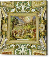 Artistic Ceilings Within The Vatican Museums In The Vatican City Acrylic Print