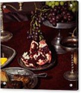 Artistic Food Still Life Acrylic Print