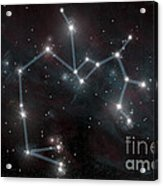 Artists Depiction Of The Constellation Acrylic Print