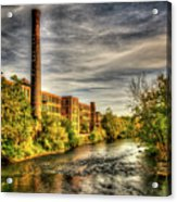 Ashton Mill, Cumberland, Ri Acrylic Print
