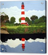 Assateague Island Lighthouse Acrylic Print