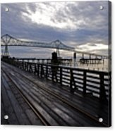 Astoria-megler Bridge 4 Acrylic Print