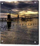 Astoria-megler Bridge 5 Acrylic Print