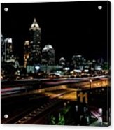 Atlanta Expressway Acrylic Print