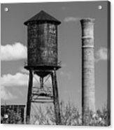 Atlanta Water Tower Acrylic Print