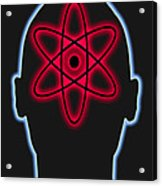 Atom Diagram Acrylic Print