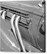 Auburn Boattail Speedster Acrylic Print