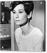 Audrey Hepburn (1929-1993) Acrylic Print by Granger