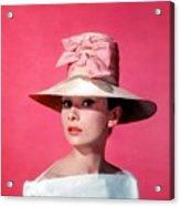Audtrey Hepburn Breakfast Tiffany's Acrylic Print