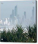 Australia - Surf Mist Shrouds Our View Acrylic Print