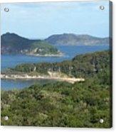 Australia - Broken Bay's Lion Island Acrylic Print