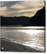 Australia - Sun Glistens On Umina Beach Acrylic Print