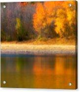 Autumn At Sawmill Lake Acrylic Print
