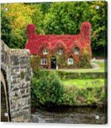 Autumn Cottage Acrylic Print