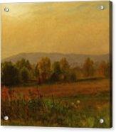 Autumn Landscape New England Acrylic Print