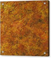 Autumn Leaves Acrylic Print