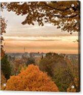Autumn On The Hill Acrylic Print