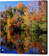Autumn Pond Acrylic Print