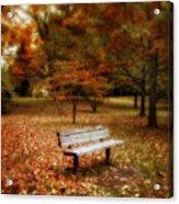 Autumn Splendors Acrylic Print