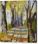 Autumn Street Acrylic Print