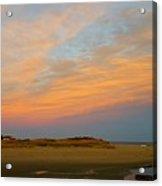Autumn Sunset At Good Harbor Acrylic Print