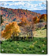 Autumn This Side Of Heaven Acrylic Print