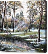 Autumnal Time.  Acrylic Print