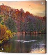 Autumn's Allure Acrylic Print