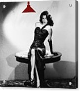 Ava Gardner Film Noir Classic The Killers 1946-2015 Acrylic Print