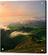Azores Islands Landscape Acrylic Print