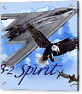 B-2 Spirit Acrylic Print