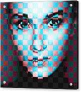 Good Pixels Acrylic Print