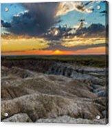 Badlands Np Wilderness Overlook 4 Acrylic Print