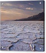 Badwater Salt Flats 1 Acrylic Print