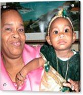 Bahama Mama In Atlantis Acrylic Print